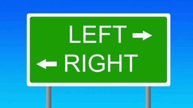 left/right confusion