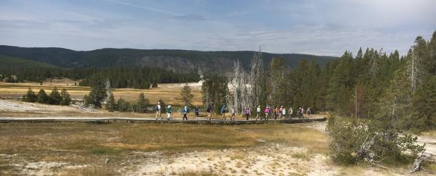 Road Scholar Trip Yellowstone