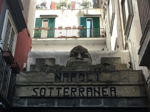 Naples Underground entrance