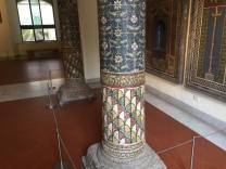 Mosaic column from Pompeii