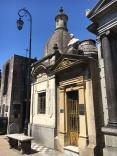Crypt in La Recoleta cemetery