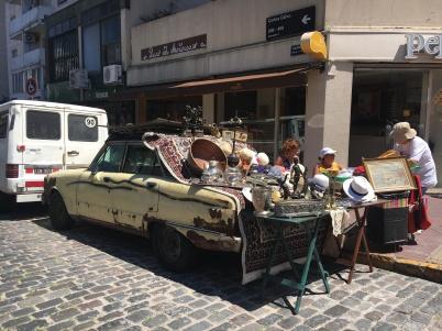 Street vendor San Telmo Buenos Aires