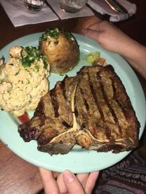 Steak & caulifower