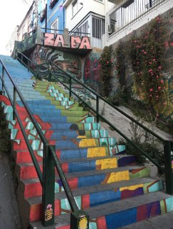 Valpo stairway