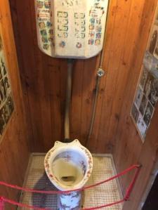 Bathroom at Isla Negra