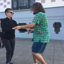 Swing dancing in Valpo