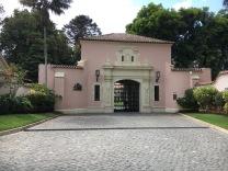 Gateway to president's house