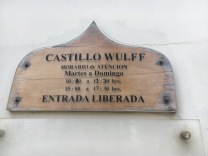 Wulff Castle sign