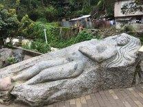 Pachamama in stone