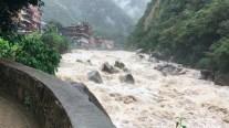 River in Aguas Calientes