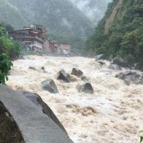 River in Aguas Calientes