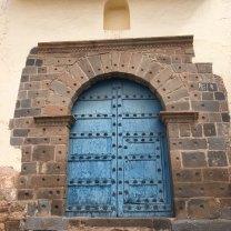 Igelsia San Blas side door