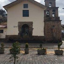Iglesia San Blas front view