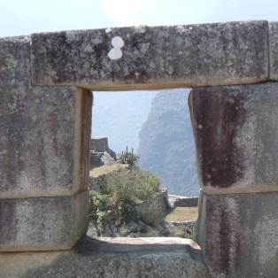 Machu Picchu keyhole window