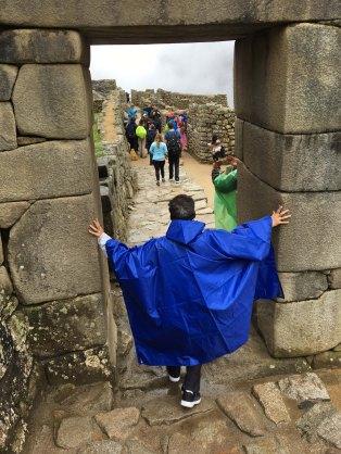 Machu Picchu doorway