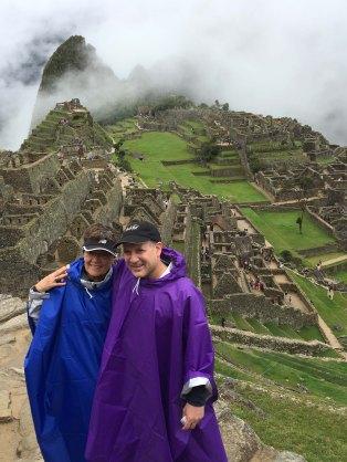 ML & Eric Machu Picchu 2018