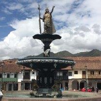 Statue of Pachacuti