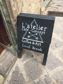 San Blas coffee shop