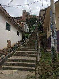 Steps above San Blas