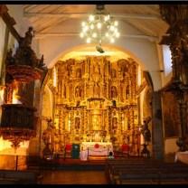 Inside Iglesia San Blas