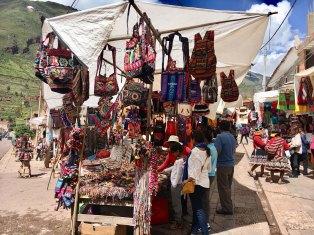 Handicraft market in Peru