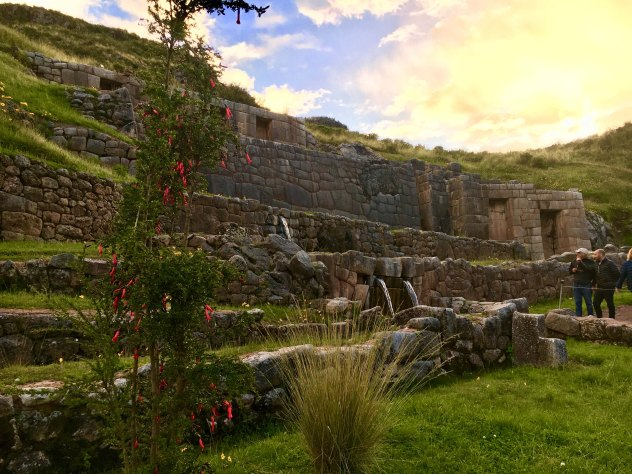 Sacred Valley stone walls
