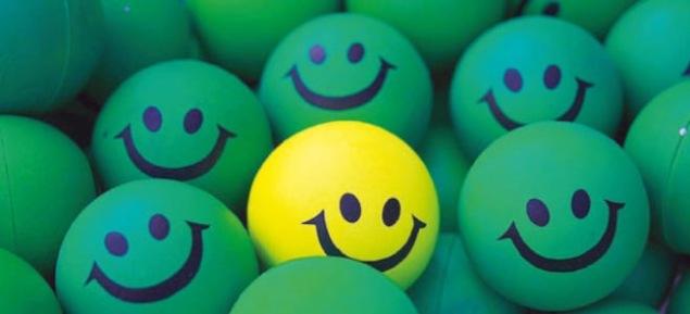 smiling cue balls