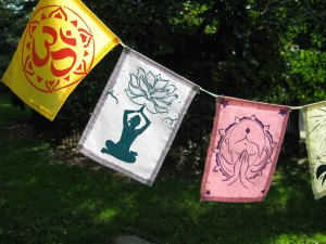 Yoga Prayer Flags