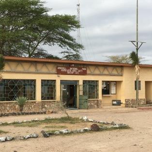Amboseli airport terminal