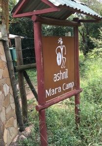 Ashnil Mara Camp sign