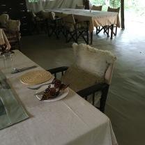 Nairobi dining room
