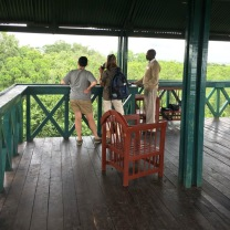 Mara Intrepids viewing tower