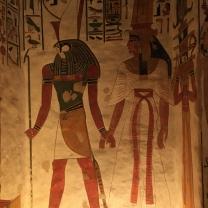Horus and consort